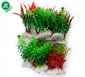 JK ANIMALS Akvarijní rostlinky MIX small, cca 6 cm/12 ks | © copyright jk animals, všechna práva vyhrazena