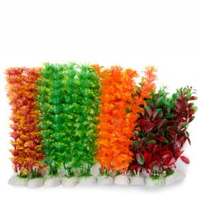 MIX medium, akvarijní plastová rostlinka