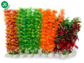JK ANIMALS Akvarijní rostlinky MIX medium, cca 25 cm/10 ks | © copyright jk animals, všechna práva vyhrazena