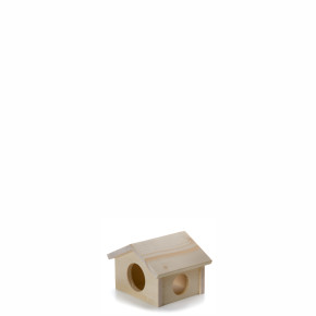 Dřevěný domek pro křečky