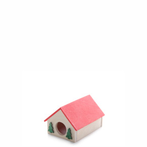 Domek křeček malý, dřevěný domek pro hlodavce