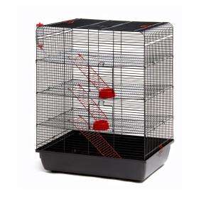 klec Remy pro potkany, černá