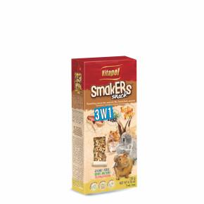 Vitapol - 3 klasy, hlodavec, králík, mix: oříšek, lesní ovoce, popcorn