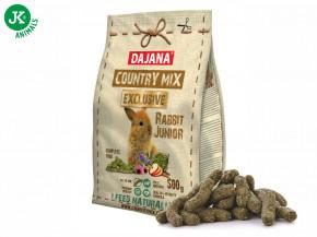 Dajana – COUNTRY MIX EXCLUSIVE, Rabbit Junior (králík) 500g   © copyright jk animals, všechna práva vyhrazena