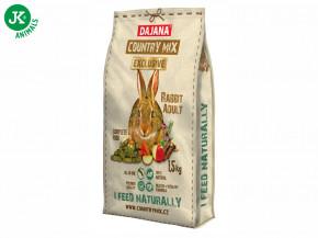 Dajana – COUNTRY MIX EXCLUSIVE, Rabbit Adult (králík) 1 500g   © copyright jk animals, všechna práva vyhrazena