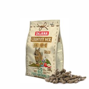 Dajana – COUNTRY MIX EXCLUSIVE, osmák degu 500g, krmivo proosmáky