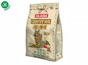 Dajana – COUNTRY MIX EXCLUSIVE, Degu (osmák) 500g | © copyright jk animals, všechna práva vyhrazena