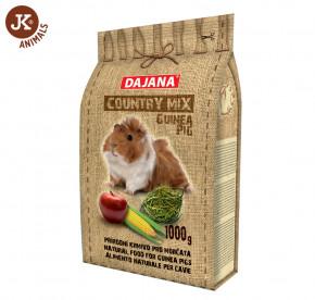 Dajana – COUNTRY MIX, Guinea Pig (morče) 1 000g | © copyright jk animals, všechna práva vyhrazena