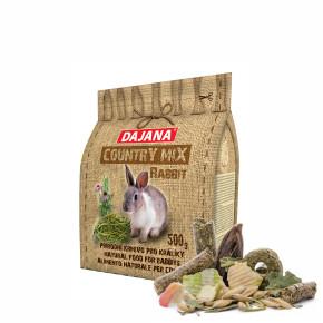 Dajana – COUNTRY MIX, Králík 500g, krmivo prokrálíky
