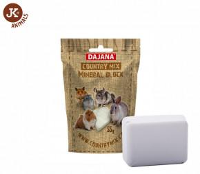 Dajana – COUNTRY MIX, Mineral block (minerální kámen)   © copyright jk animals, všechna práva vyhrazena