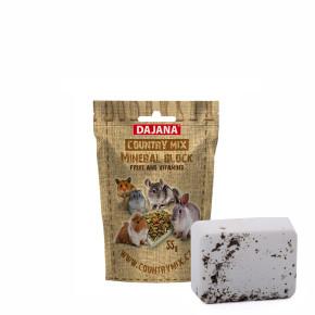 Dajana – COUNTRY MIX, Mineral block fruit &vitamins, ovocný minerální kámen prohlodavce