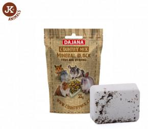 Dajana – COUNTRY MIX, Mineral block fruit & vitamins (ovocný minerální kámen) | © copyright jk animals, všechna práva vyhrazena