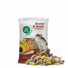 Kompletní krmivo pro malé hlodavce, křečky a myši