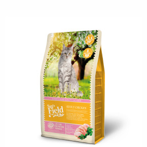 Sams Field Cat Adult Chicken, superprémiové kuřecí granule 2,5 kg (Sam's Field)
