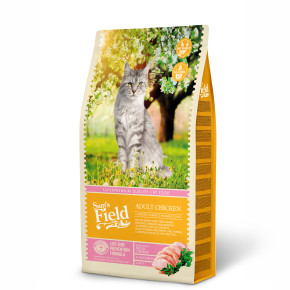 Sams Field Cat Adult Chicken, superprémiové kuřecí granule 7,5 kg (Sam's Field)