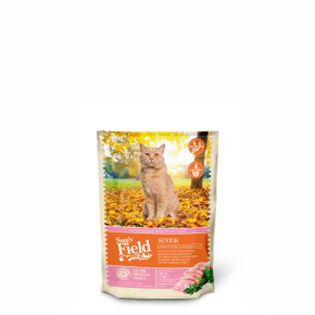 Sams Field Cat Senior, superprémiové granule 400 g (Sam's Field)