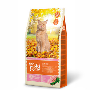 Sams Field Cat Senior, superprémiové granule 7,5 kg (Sam's Field)