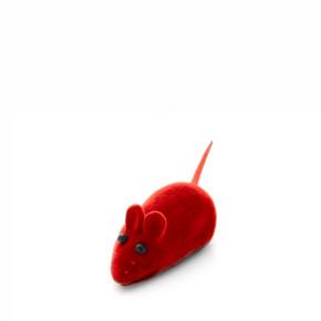 Gumová pískací myška, hračka
