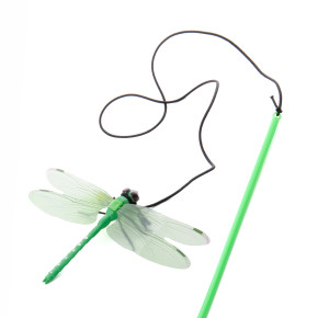 Vážka srolničkou na prutě, hračka