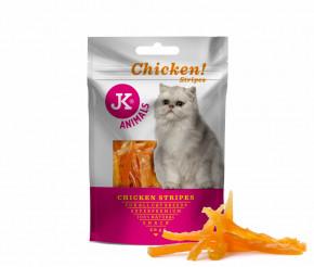 JK SUPERPREMIUM MEAT SNACK CAT CHICKEN STRIPS – sušené kuřecí proužky pro kočky | © copyright jk animals, všechna práva vyhrazena