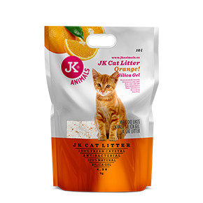 Litter Silica gel - orange, kočkolit 10 l