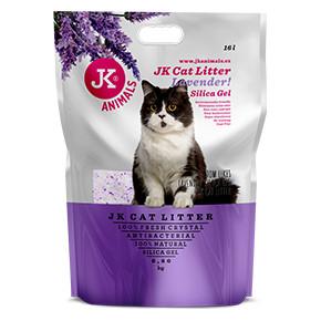 Litter Silica gel - lavender, kočkolit 16l