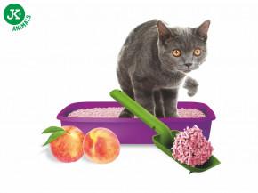JK ANIMALS Tofu Cat Litter Juicy Peach, 2,5kg   © copyright jk animals, všechna práva vyhrazena