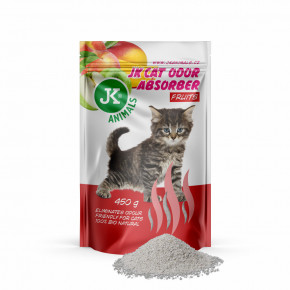 JK Fruits Absorber, pohlcovač zápachů svůní ovoce, 450g, podporuje účinek kočkolitů