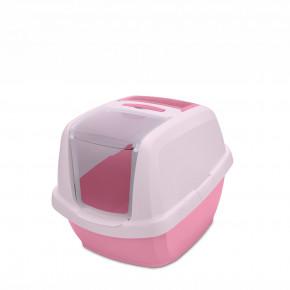 Kočičí toaleta MADDY JUNIOR růžová