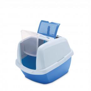 Kočičí toaleta MADDY JUNIOR modrá