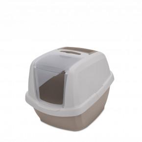 Kočičí toaleta MADDY JUNIOR šedá