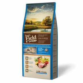 Sams Field 4300 Power Chicken & Potato, superprémiové granule 13 kg (Sam's Field)