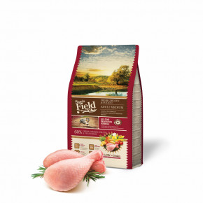 Sam's Field Low Grain Adult Medium Chicken & Potato, superprémiové granule, 2,5 kg (Sams Field bez pšenice)