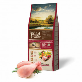 Sam's Field Low Grain Adult Medium Chicken & Potato, superprémiové granule, 13 kg (Sams Field bez pšenice)