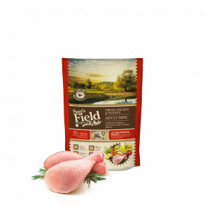 Sam's Field Low Grain Adult Mini Chicken & Potato, superprémiové granule, 800 g (Sams Field bez pšenice)