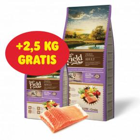 Sam's Field Low Adult Salmon & Potato, hypoalergenní superprémiové granule, 13kg (Sams Field bez pšenice)