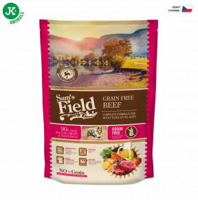 Sam's Field Grain Free Beef (Angus) | © copyright jk animals, všechna práva vyhrazena
