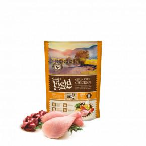 Sam's Field Grain Free Chicken, superprémiové granule, 800g (Sams Field bez obilovin)
