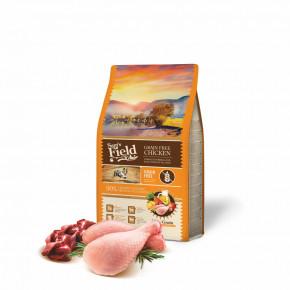 Sam's Field Grain Free Chicken, superprémiové granule, 2,5kg (Sams Field bez obilovin)