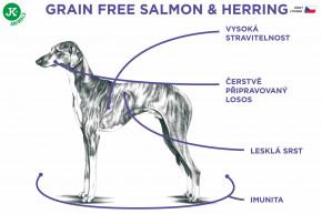 Sam's Field Grain Free Salmon & Herring | © copyright jk animals, všechna práva vyhrazena