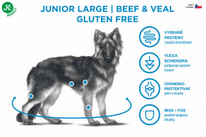 Sam's Field Gluten Free Beef & Veal Junior Large   © copyright jk animals, všechna práva vyhrazena
