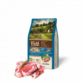 Sam's Field Gluten Free Beef & Veal Adult Large, superprémiové granule, 2,5kg (Sams Field bez lepku)