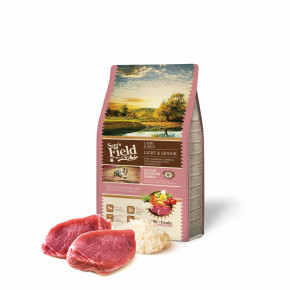 Sam's Field Low Grain Light & Senior Lamb & Rice, superprémiové granule, 2,5kg (Sams Field bez pšenice)