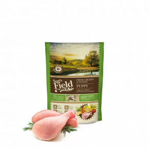 Sam's Field Low Grain Puppy Chicken & Potato, superprémiové granule, 800 g (Sams Field bez pšenice)
