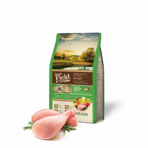 Sam's Field Low Grain Puppy Chicken & Potato, superprémiové granule, 2,5 kg (Sams Field bez pšenice)