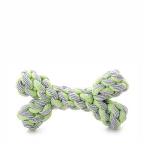 Bavlněná kost zelená, bavlněná hračka
