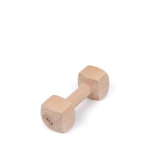 Aportovací dřevěná činka 150g, hračka