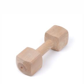 Aportovací dřevěná činka 400g, hračka