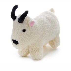 Fleece Koza, flísová pískací hračka