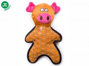 JK ANIMALS Prase, nylonová pískací hračka sTPR prvky   © copyright jk animals, všechna práva vyhrazena